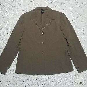 Rafaella NWT Women's Button Down Blazer ~ Sz 10
